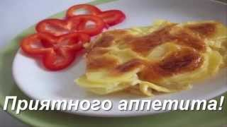 """Запеченный под сыром картофель """"Дофине"""""""