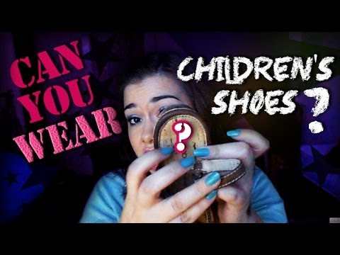 Can You WEAR Children's Shoes?