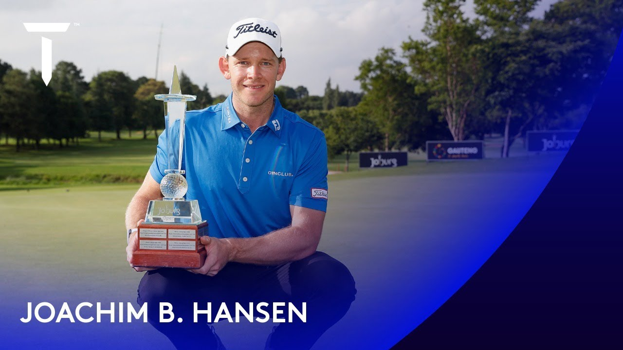 Joachim B. Hansen claims his first European Tour win | 2020 Joburg Open