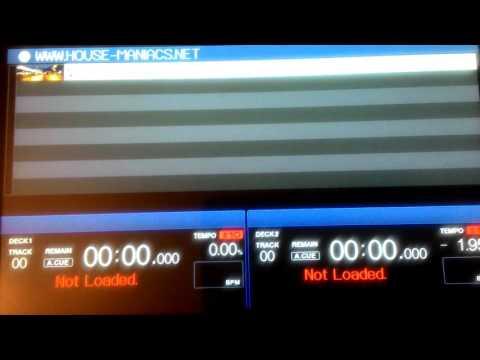 Pioneer XDJ-RX Ver.2.00 Error