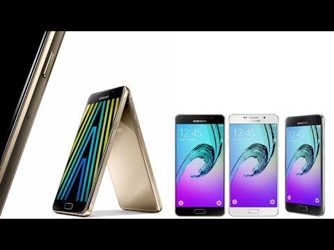 АПН | Представлены Samsung A3;A5;А7 Модели 2016 года