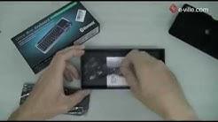 Bluetooth -näppäimistö ja hiiri - Unboxing - e-ville.com