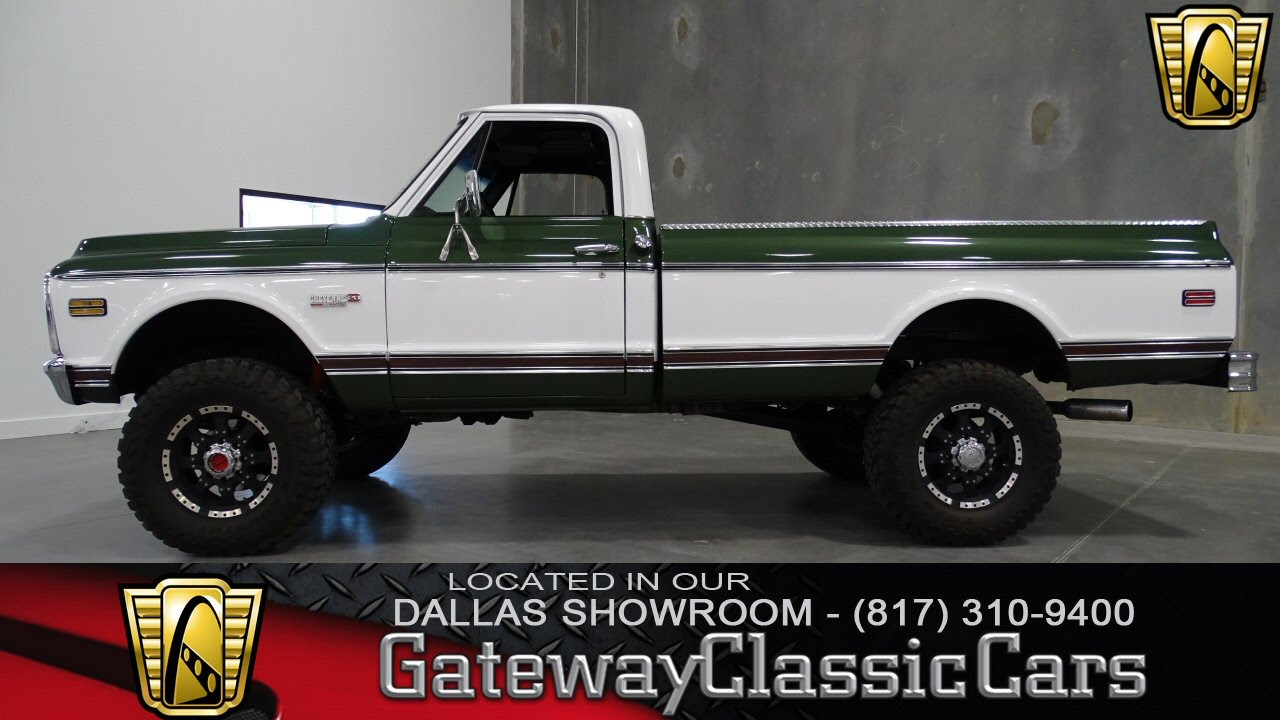 1971 chevrolet c20 cheyenne super stock 06 gateway classic cars 71 Chevy Stepside 1971 chevrolet c20 cheyenne super stock 06 gateway classic cars dallas showroom