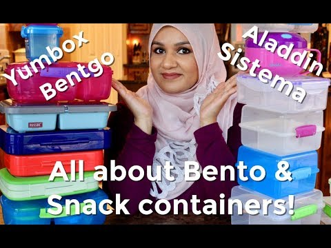 All About Bento Lunch Containers | Yumbox vs. Bentgo | Sistema and much more!