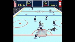 Brett Hull Hockey 95 ... (SNES) 60fps
