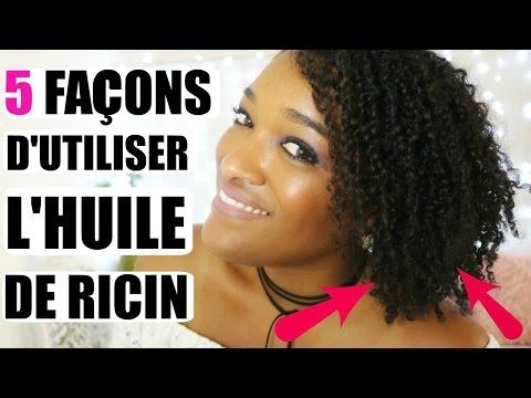 5 Façons d'utiliser l'huile de ricin pour les cheveux  Collab avec Belle au Naturel