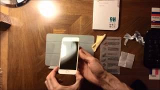 iPhone 6 Nalepenie ochranného skla 9H - Tempered Glass Protector