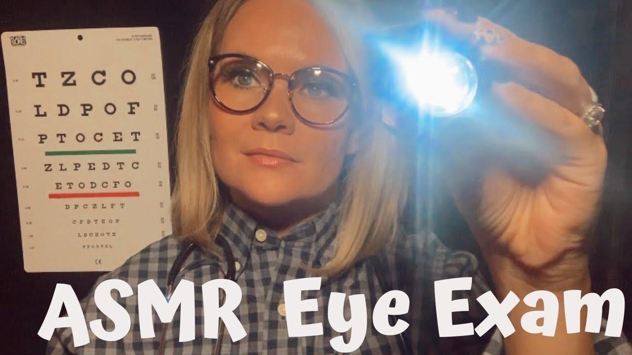 ASMR Eye Exam Doctor Role Play |  #ASMR