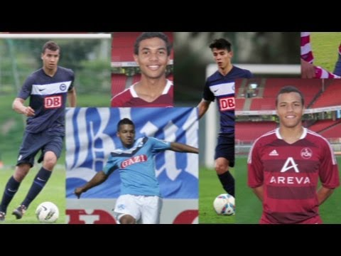 Six biracial German-Americans are on U.S. national team