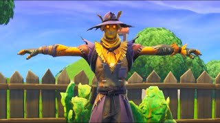 *NEW* Fortnite Leaked T Pose Emote!! Scarecrow Skin!!!