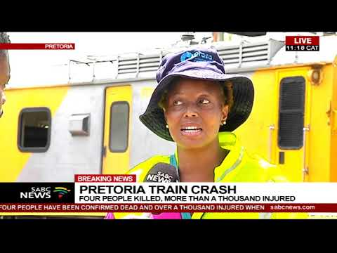 Pretoria train crash claims 3 lives