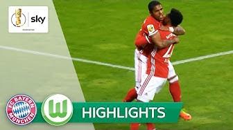 FC Bayern München - VfL Wolfsburg 1:0   Highlights DFB-Pokal 2016/17 - Achtelfinale
