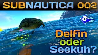 SUBNAUTICA [002] [Delfin oder Seekuh?] Let's Play Gameplay Deutsch German thumbnail