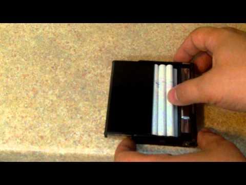 DealExtreme Automatic Ejection Cigarette Case (SKU 68250)