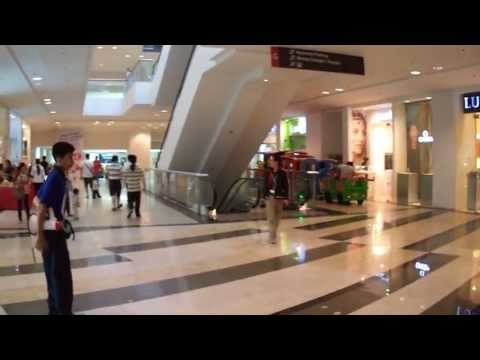 Train inside Glorietta Mall - Makati City, Philippines
