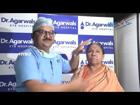 Dr. Agarwal's Eye Hospitals Operated Glaucoma Single Pass Four Throw Pupilloplasty