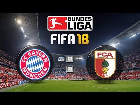 FIFA 18 Bundesliga FC Bayern München : FC Augsburg | Gameplay Deutsch Livestream