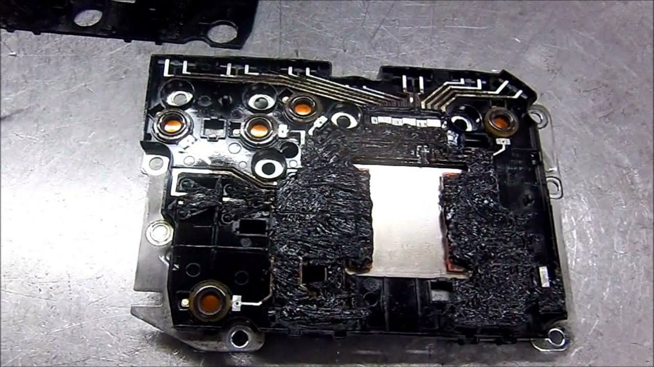 Re5r05a Coolant Contamination Nissan Pathfinder Transmission Fuse Box Problems Repair Youtube
