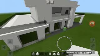 Como fazer casa moderna Minecraft segunda parte