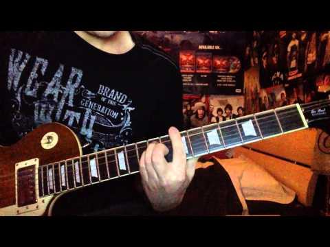 Volbeat- Fallen guitar cover