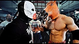 The Faceless VS Anabolic Horse - Strength Wars League 2K17 #24