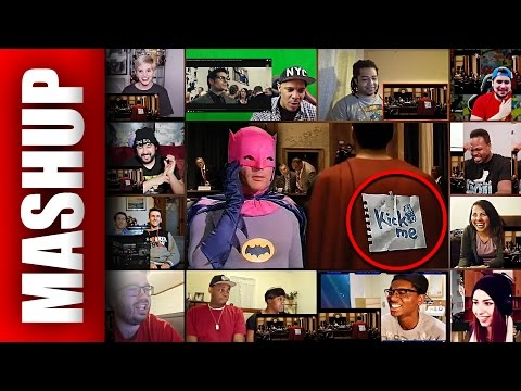 BATMAN V SUPERMAN: Dawn of Justice Weird Trailer Reactions Mashup