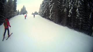 Буковель 2013 черная трасса(Видео не порезано, сразу выложено после съемки., 2013-02-10T22:12:57.000Z)