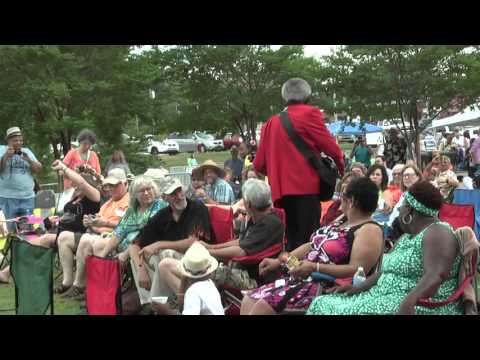 Lil Jimmy Reed performs at the Wiregrass Blues Fest
