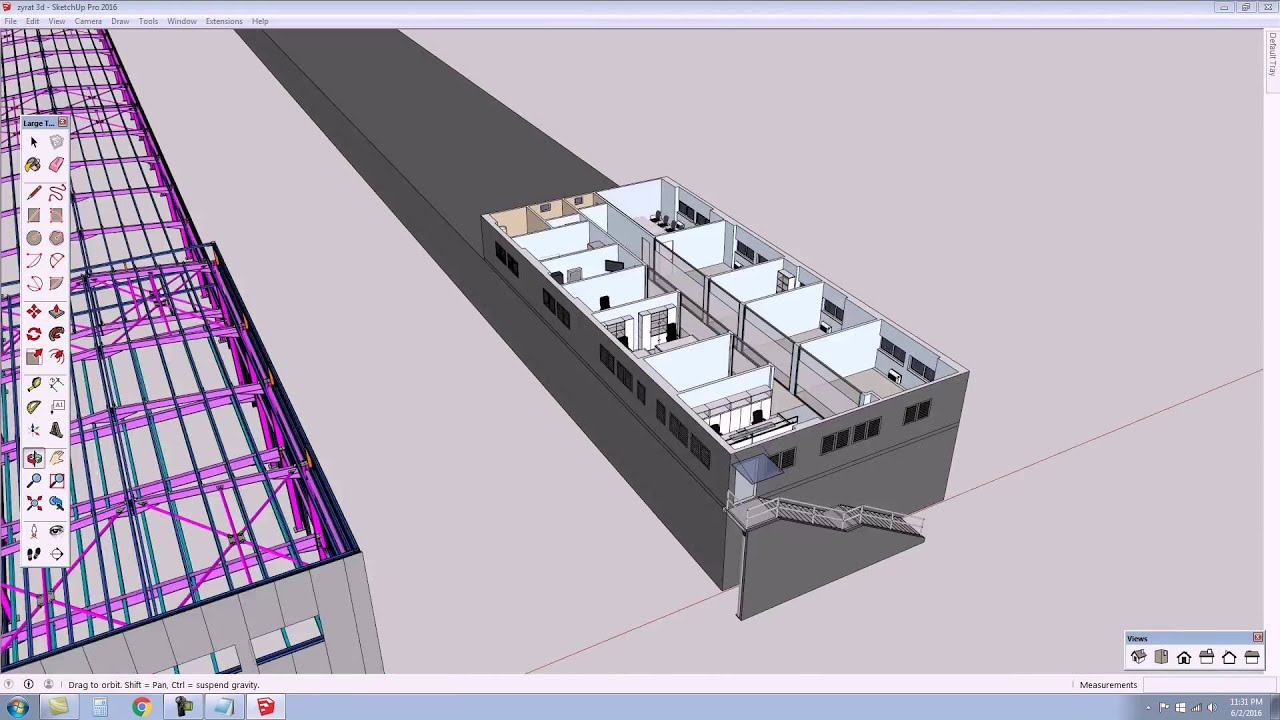 Structural and interior design by using tekla structures for Structural interior design