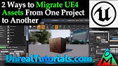 UE4: How to Change/Move Unreal Engine 4 Project Folder to New