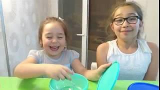 Kumsal, Ece ve Badeyle eğlenceli challenge oyunu !! heyecanlı kız çocuk videoları
