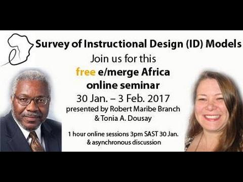 Survey of Instructional Design (ID) Models seminar
