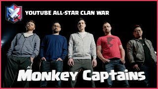 Clash Royale: Introducing the Monkey Captains (YouTube All-Star Clan War)