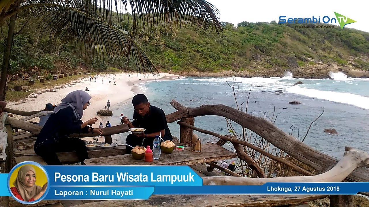 Pantai Momong Pesona Baru Wisata Lampuuk Youtube