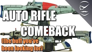 Destiny! Auto Rifle Buff! You Might Call It A Comeback!