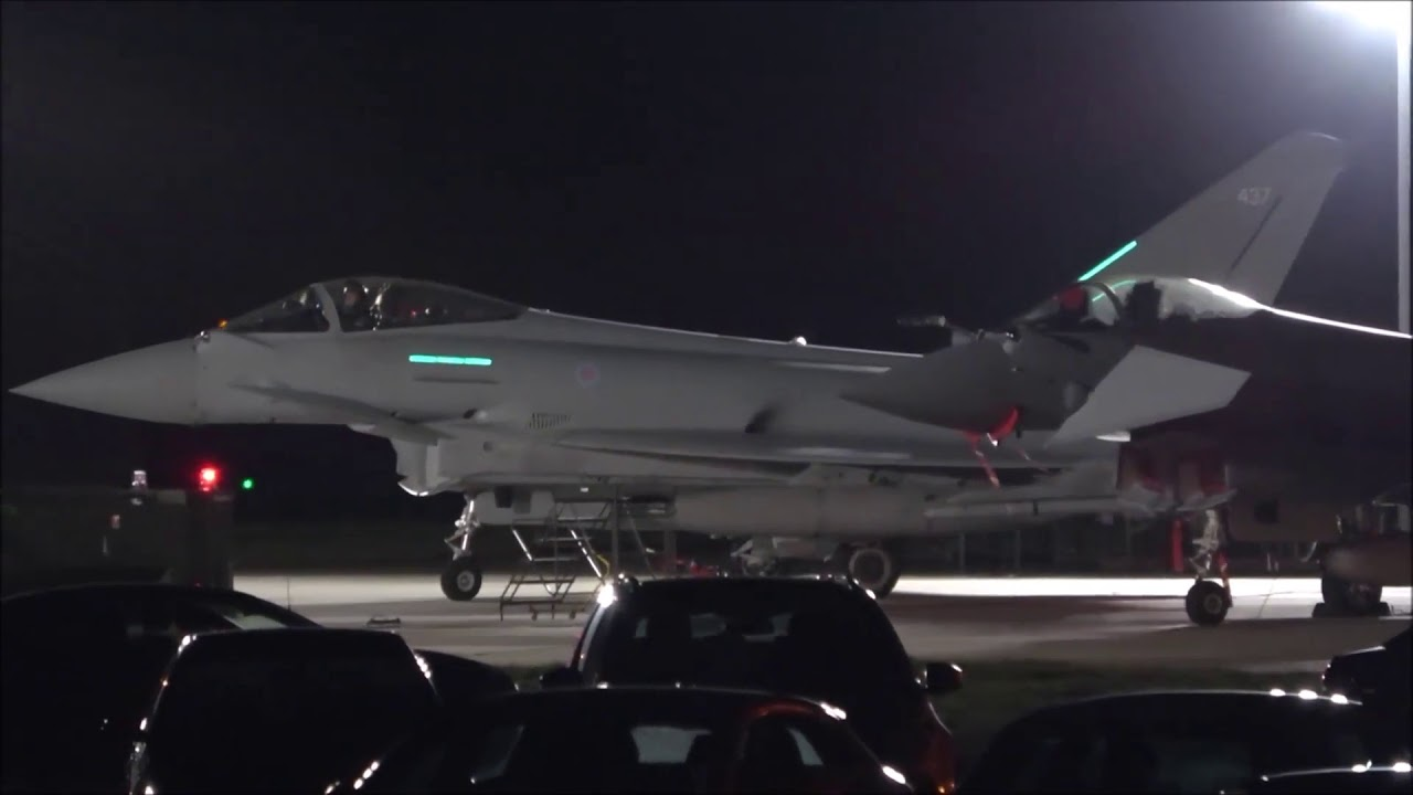RAF Coningsby Night Flying Part 2