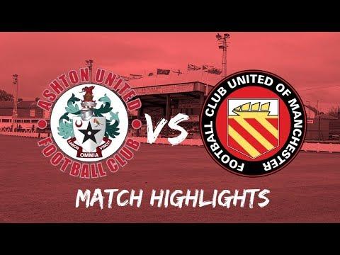 Ashton Utd FC United Goals And Highlights