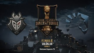 G2 vs TL [HighLights MSI 2019] [19.05.2019] [Finals] [Game 1]