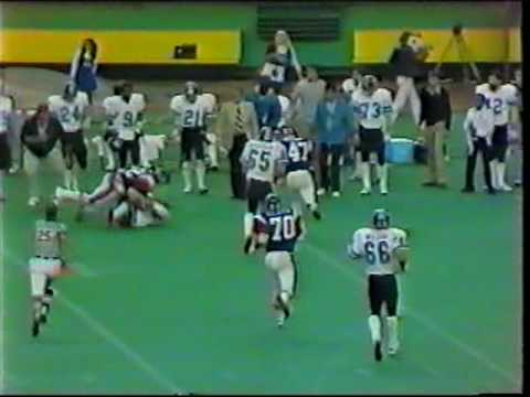 CFL 1977: Toronto at Montreal part 9   Kelvin Kirk touchdown