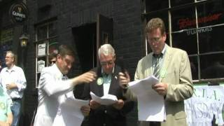 First Bloomsday in Brooklyn - Pub 2  Reading of Ulysses ends near O Connors