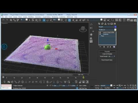 Making Realistic Water in 3ds Max