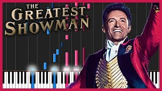 The Greatest Showman Medley [Piano Tutorial] (Synthesia) // YoungMin You