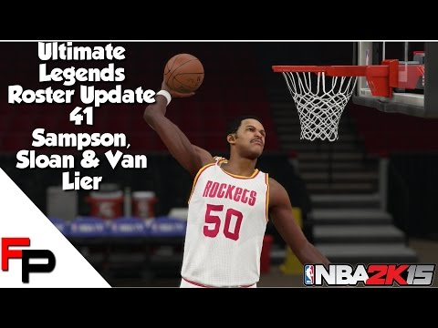 NBA 2K15 - Ralph Sampson, Jerry Sloan & Norm Van Lier - Ultimate Legends Roster - Update 41