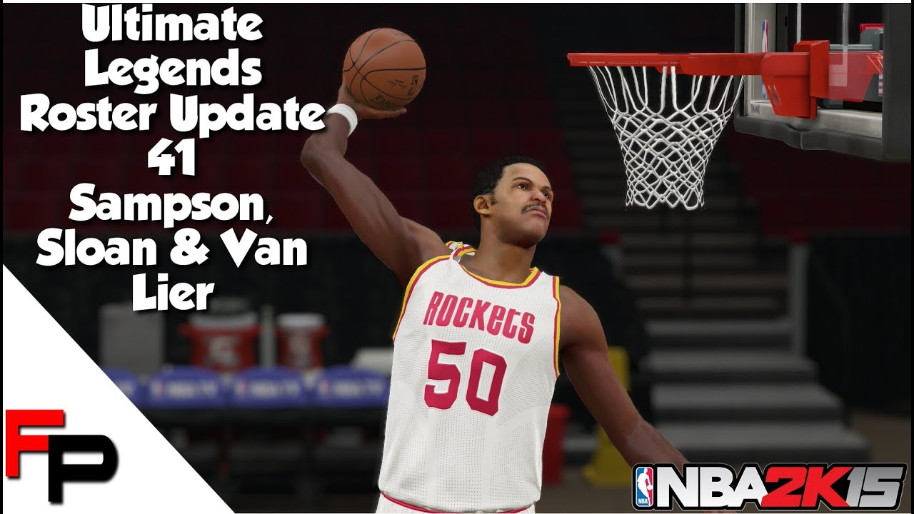 NBA 2K15 Ralph Sampson Jerry Sloan & Norm Van Lier Ultimate