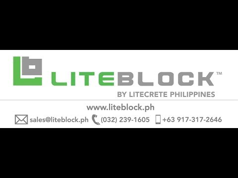 Hollow Blocks Cebu - LITEBLOCK™ Faster Walls - Zero Compromise