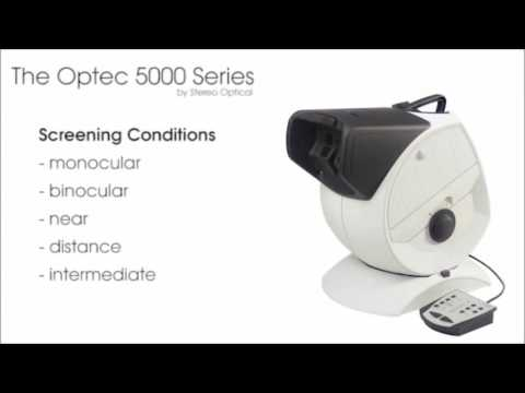 Optec 5000 & 5500 Series Vision Screener