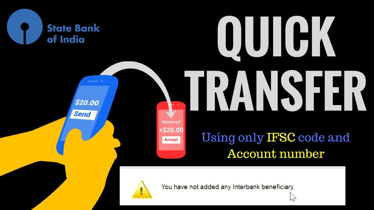 Transfer Money From Online Sbi Instantly Quick Option