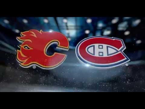 Calgary Flames Vs Montreal Canadiens Jan 24 Youtube