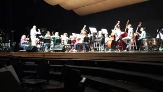 """Lampeter-Strasburg Chamber Strings performing """"We Three Kings"""""""