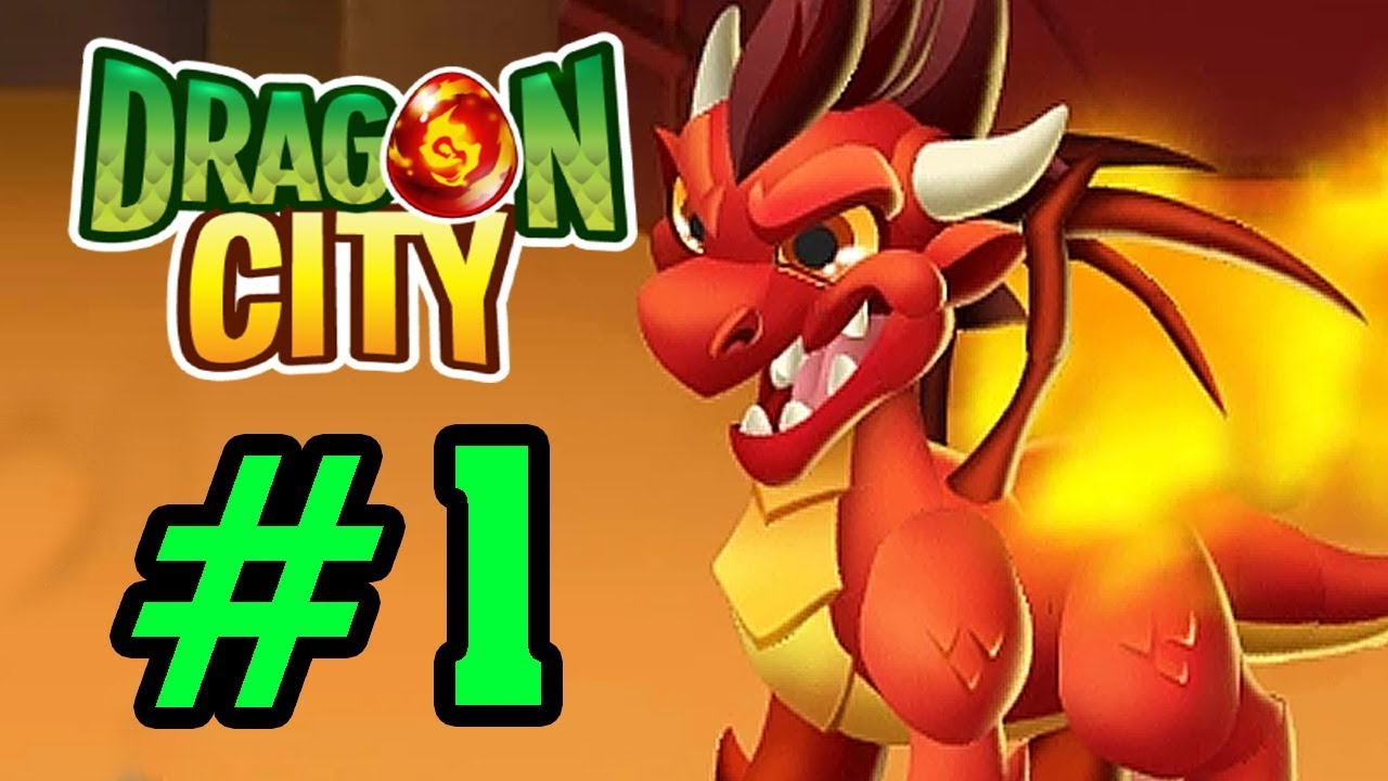 Dragon City – NÔNG TRẠI RỒNG – Lai Giống Tạo Ra 1 Em Falame Rock Dragon Tập 1